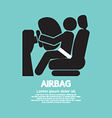 Airbag Car Safety Equipment vector image vector image