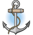 anchor nautical maritime sea ocean vector image