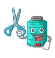 barber cartoon big industrial water tank container vector image