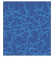 blue bubbles background vector image vector image