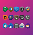 Icon Pack Color vector image