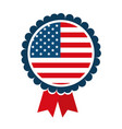 medal united states america vector image vector image