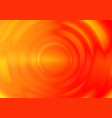 orange ripple vibration wave from center vector image
