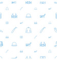 personal icons pattern seamless white background vector image vector image