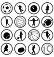Sport silhouettes vector | Price: 1 Credit (USD $1)