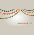 st patricks day banners bakground vector image