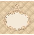 vintage background with royal frame