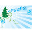 background for new year and for christmas vector image
