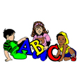 ABC Kids vector image vector image