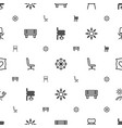comfort icons pattern seamless white background vector image vector image
