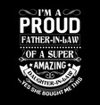father t shirts design graphic vector image vector image