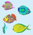fish 3 vector image vector image