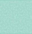 mint green network web texture seamless pattern vector image