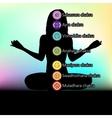 symbols of chakra vector image