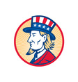 Uncle Sam American Side vector image vector image