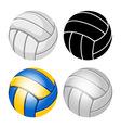 Volleyball balls set vector image