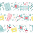 baby room concept vector image