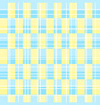 basic rgbbright blue yellow alternating grid patte vector image vector image