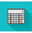 Calculator icon Business concept with mathematics vector image vector image