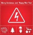electrocution icon vector image