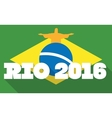 Olympic Games in Rio 2016 vector image vector image