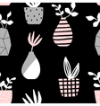 Vases and Pots Seamless Pattern