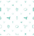 vitamin icons pattern seamless white background vector image vector image