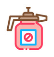 atomizer tool icon outline vector image
