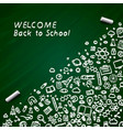 back to school banner signboard
