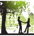 City park vector | Price: 1 Credit (USD $1)