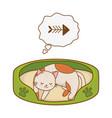 cute funny pet cartoon vector image