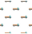 delivery truck pattern flat vector image