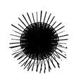 grunge burst stamp vector image vector image