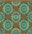 ornate greek jewelry seamless pattern ornamental vector image vector image