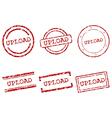 Upload stamps vector image