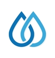 water drop icon or logo vector image