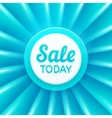 Sale today design template banner vector image