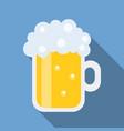 beer icon flat design