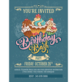 Birthday Bash Party vector image vector image