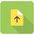 file upload vector image vector image