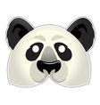 Mask Panda vector image vector image