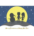 Merry Christmas2 vector image vector image