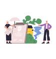 property protecting money guarantee insurance vector image