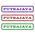 putrajaya watermark stamp vector image vector image