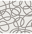 Seamless abstract pattern of curled lines vector image vector image