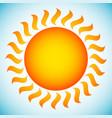 sun clip-art vector image