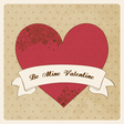 Passion love card vector image