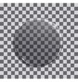 modern glass circle vector image