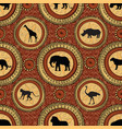 african ethnic seamless pattern abstract vector image