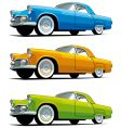 American old-fashioned car vector image vector image